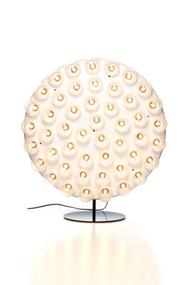 Round Prop Floor Lamp