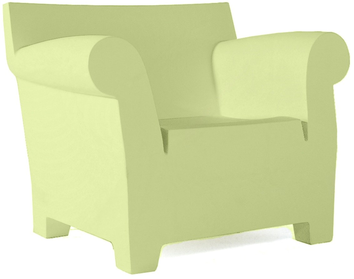 Elegant Light Green Color Chair Size