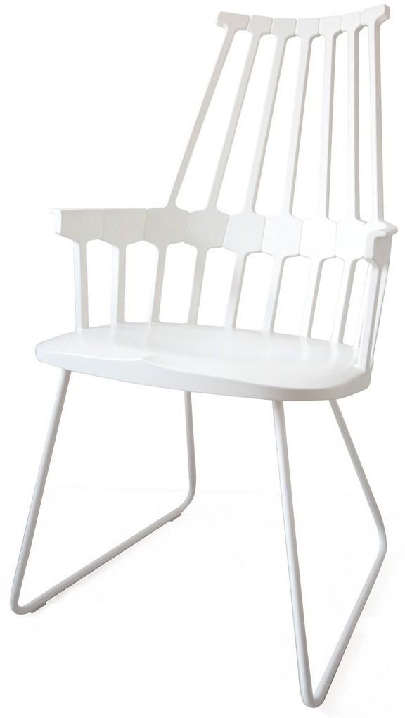 White Color Sled Base  sc 1 st  Neenas Lighting & Kartell Comback Chair | Neenas Lighting