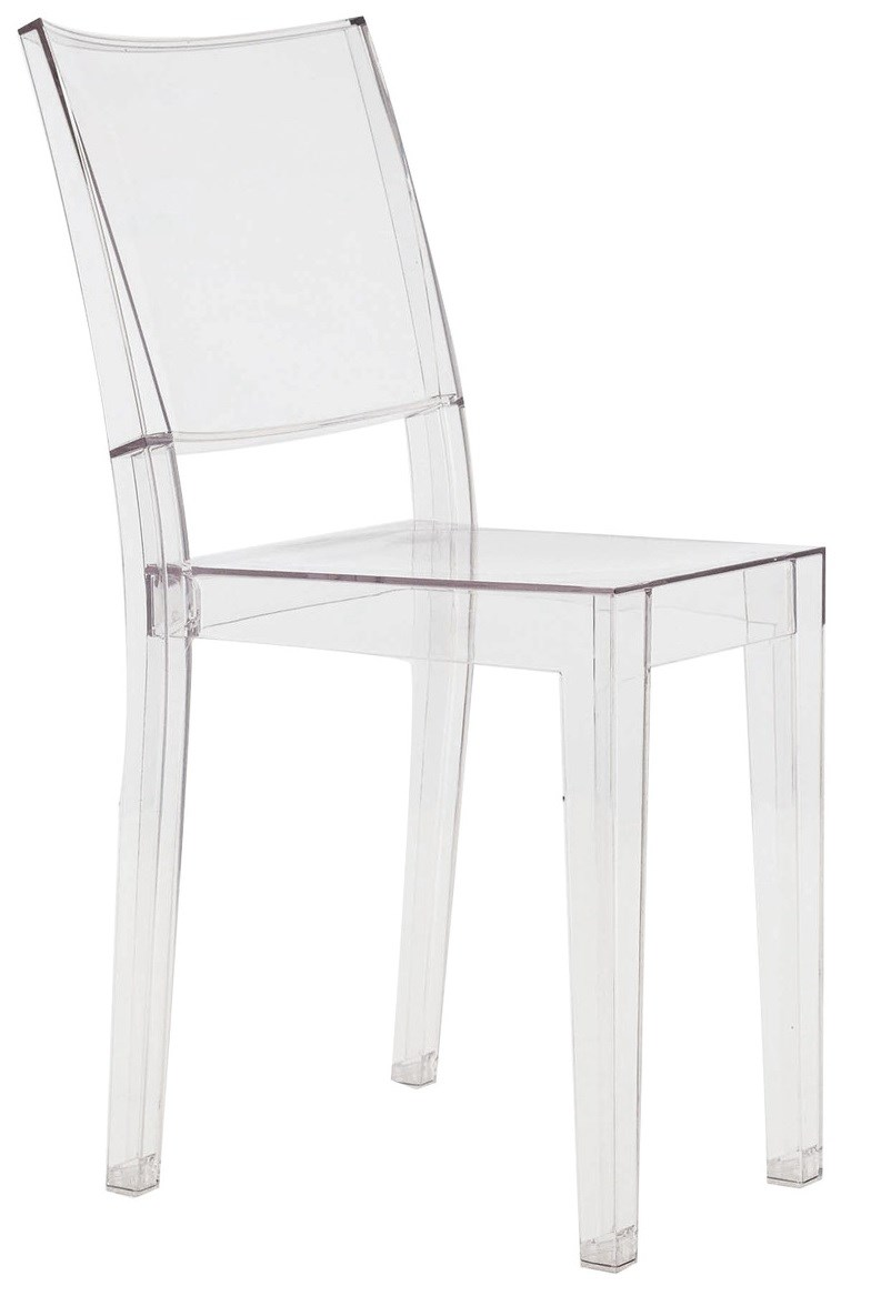 kartell la marie chair  neenas lighting - transparent crystal color pack (each chair) combo