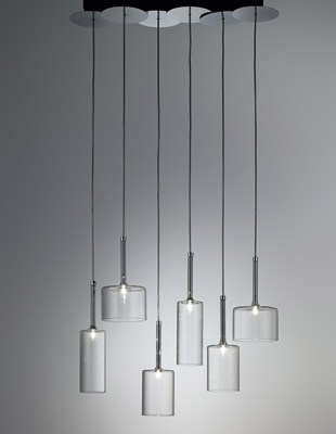 Spillray 6 light Suspension