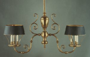 Billiard chandelier with 3500.0000