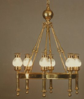 Chapman Lamps Chandelier, Traditional Chandelier, Oval train chandelier