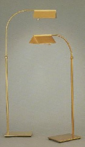 solid brass reading lamp