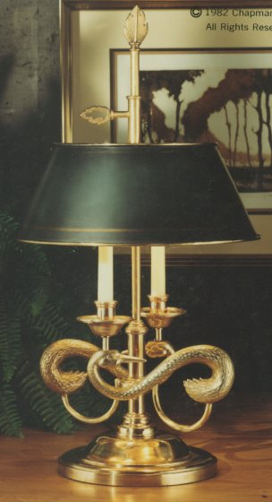 Chapman Lamps Traditional Double Arm Table Lamp Neenas