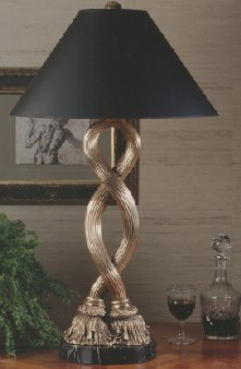 Tassel twist table lamp 1182.0000