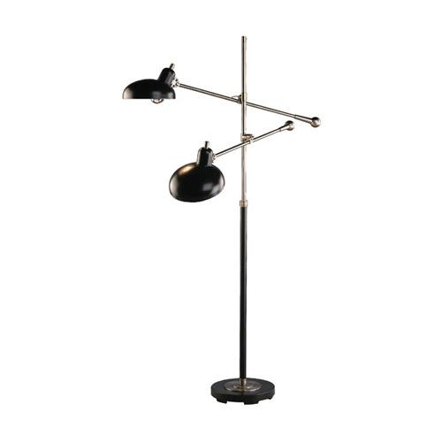 Robert Abbey 2 Arm Lead Bz Task Floor Floor Lamps