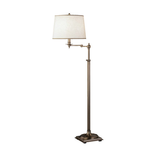 robert abbey adjustable swing arm floor lamp neenas. Black Bedroom Furniture Sets. Home Design Ideas