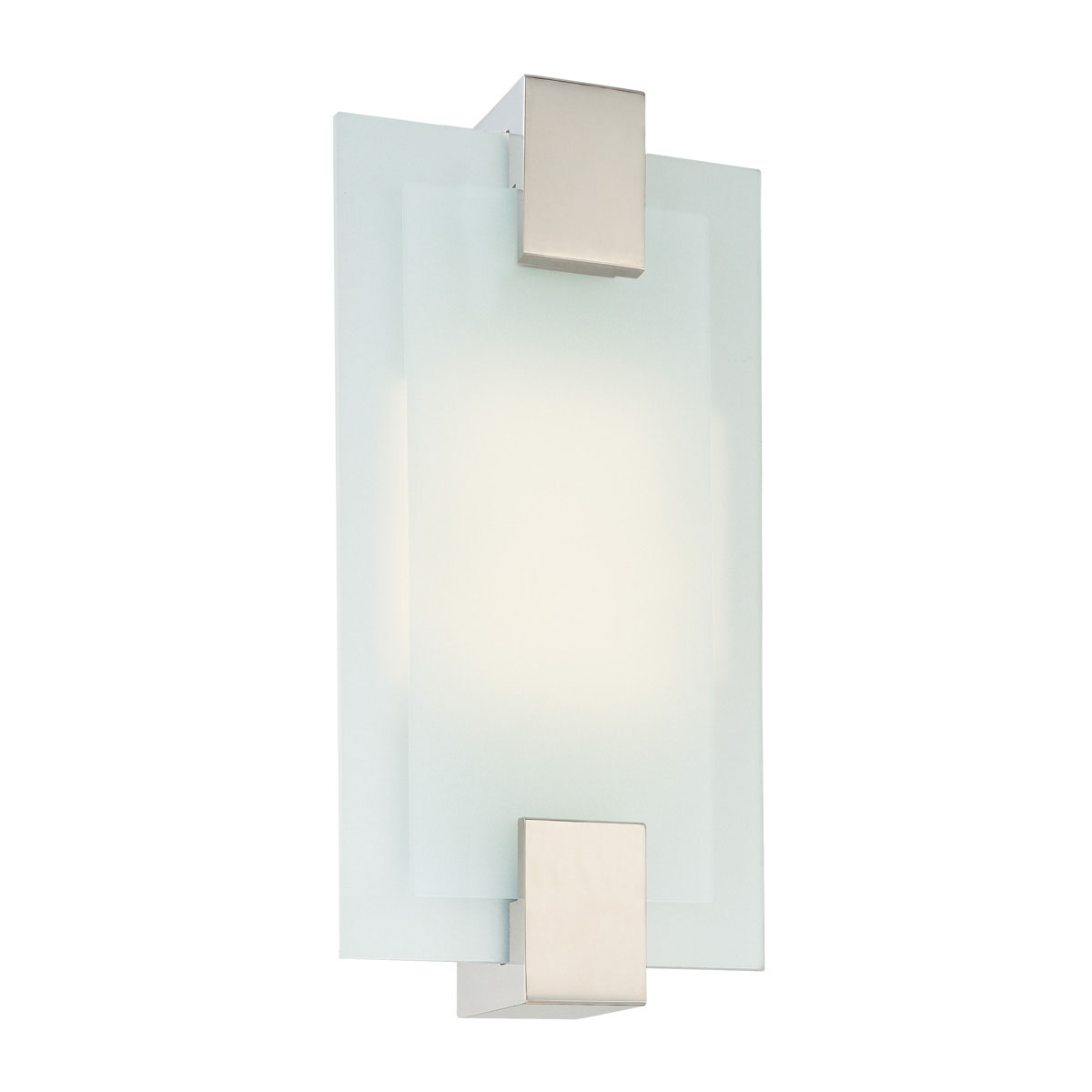 Dakota Fluorescent Rectangle Sconce