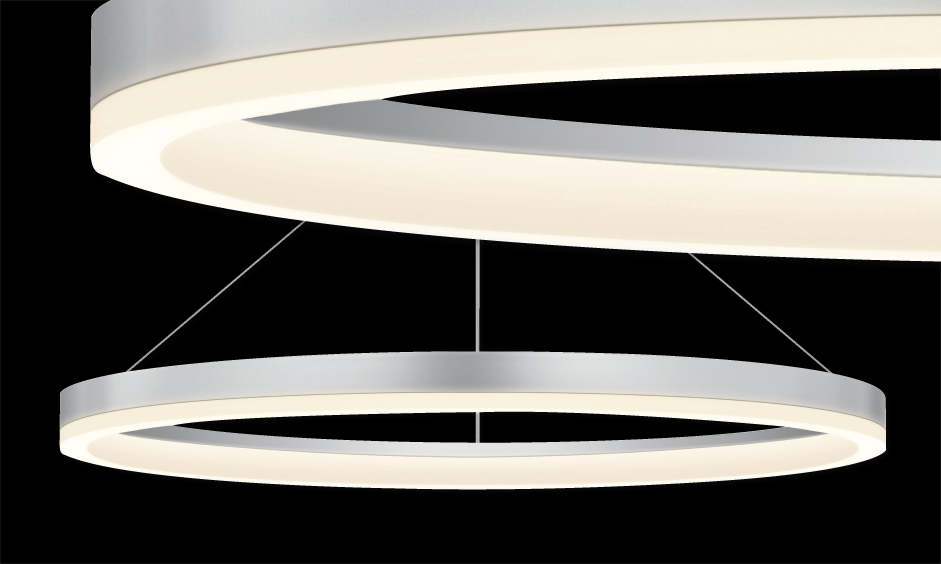 sonneman 48 led ring pendant suspension neenas lighting