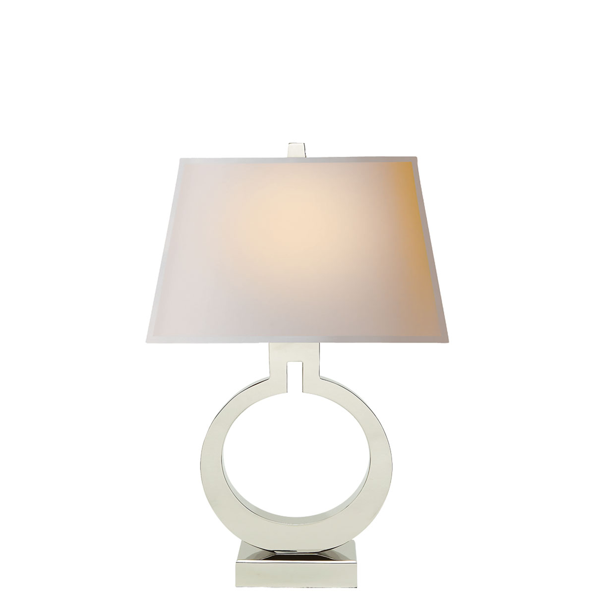 Visual comfort large ring table lamp table lamp neenas lighting geotapseo Gallery