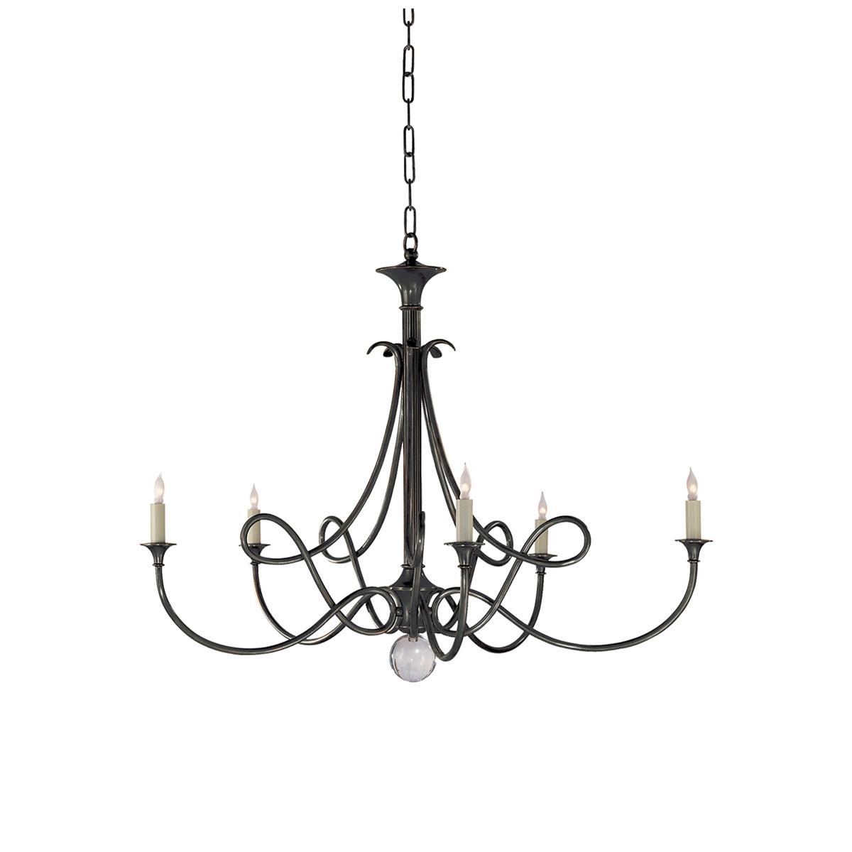 Chandelier - Visual Comfort, Chandeliers, Black Neenas Lighting