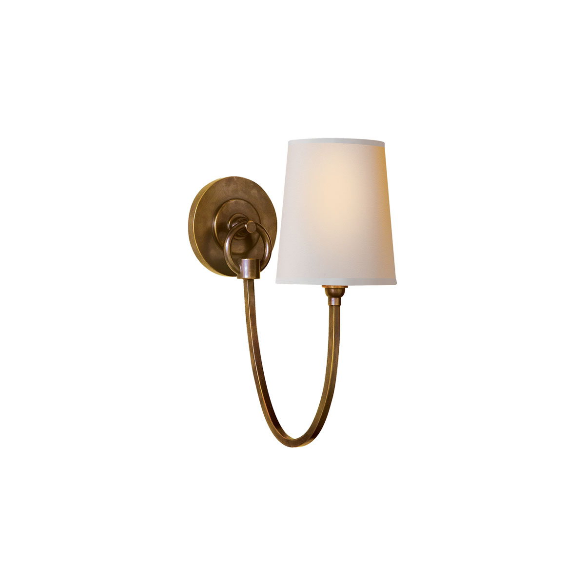 Na >> Visual Comfort Reed Single Sconce, Wall Mount | Neenas Lighting