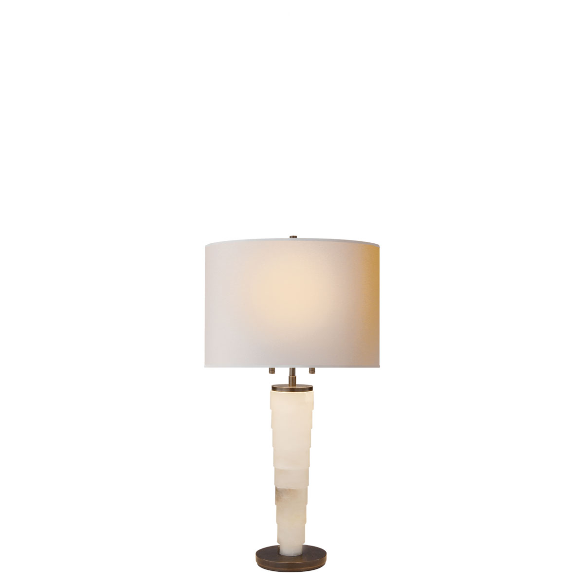 Visual comfort large stanford table table lamp neenas lighting alabaster natural stone finish natural paper shade chevronleft large stanford table geotapseo Choice Image