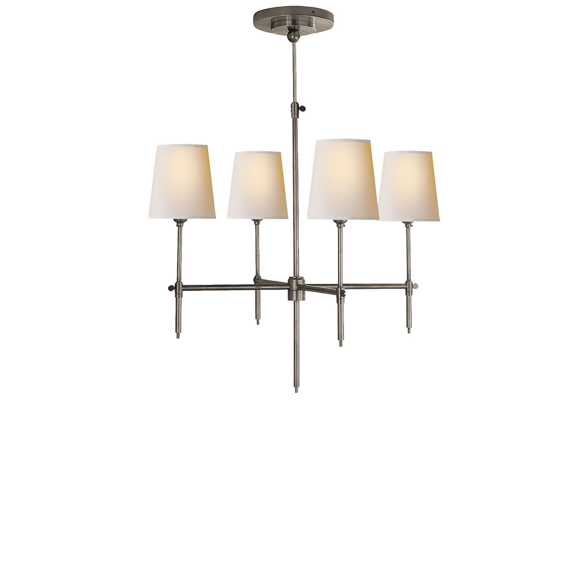 visual comfort small bryant chandeliers chandeliers neenas lighting. Black Bedroom Furniture Sets. Home Design Ideas