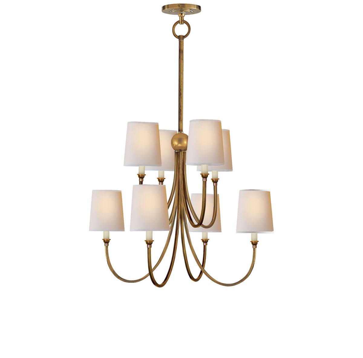 Visual comfort large reed chandelier chandelier neenas lighting aloadofball Gallery