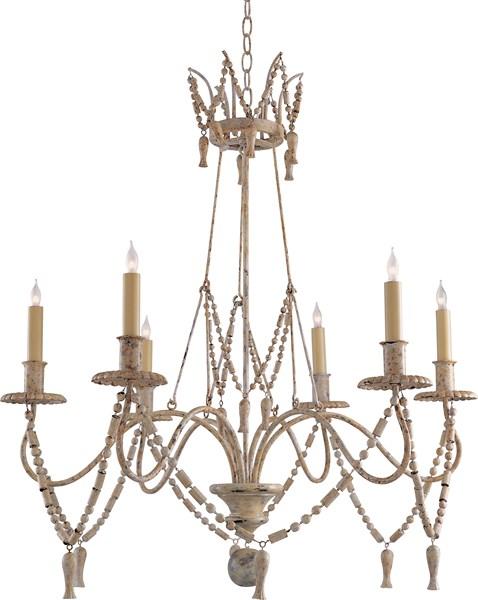 Visual Comfort Bead And Tassel Chandeliers Neenas Lighting